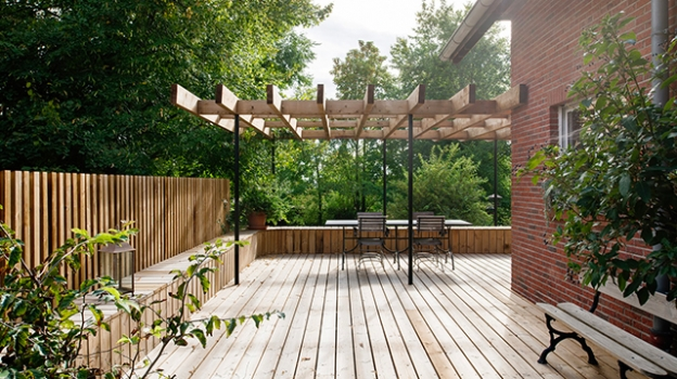 picture of Patios & Terraces and Single-Family Homes