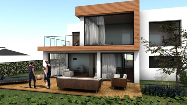 Image de Jardin et Maison individuelle
